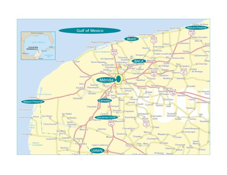 BACA trip maps